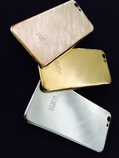 LA MELA COVER  LUXURY SKIN IPHONE 6  COVER 18 KT GOLD PLATED  HANDMADE IN ITALY   www.lamelacover.com Luxury Italian design is at the heart of LA MELA's 18 kt gold plated iPhone covers.  The craftsmanship of Italian goldsmiths create the world's first collection of iPhone covers to feature more than 40 styles, exclusive handmade textures, diamond cutting and luxurious rose gold, yellow gold and white gold plating.