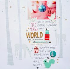 Joy to the World by cariilup at @studio_calico