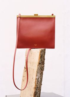 The Milanese. » Mini Clasp bag in smooth calfskin, Céline, 2017.
