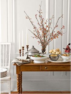 Charming Thanksgiving #anthropologie #pintowin