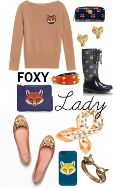 Tory Burch's Fox Print (via Brown Eyed Belle Julie)