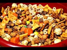 healthy snack recipes - How To Make Halloween Snack Mix   Snack   YouTube
