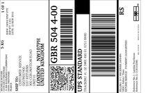 Reçu - Retour Electronique UPS: Visionner/Imprimer l'étiquette
