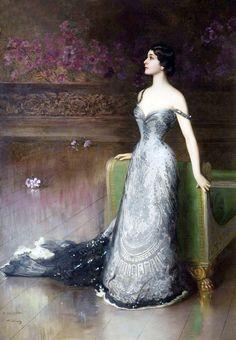 Lina Cavalieri by Vittorio Corcos , 1903