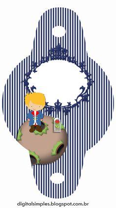 Pequeño Principito:  Invitaciones, Cajas e Imprimibles  para Imprimir Gratis. Boy Birthday, Birthday Parties, The Little Prince, Binder Covers, Free Printables, Party Themes, Scrap, Diy, Kids Rugs