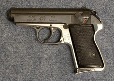 """The Hungarian RK 59 pistol, made by FÉG (""""Fegyver és Gépgyár"""", or """"Arms and Machine Manufacturing Company"""") in Budapest"""