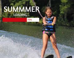 Summer is almost ready for you! #summerloading #hurrysummerchip