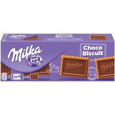 -in USA- Milka Choco Biscuit - Crisp and Tender Shortbread Biscuits - 1 pack Milka Chocolate, Cadbury Chocolate, Fini Tubes, Frito Lay Chips, Candy Recipes, Snack Recipes, Junk Food Snacks, Shortbread Biscuits, Sweet Like Candy