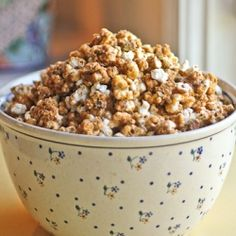 Popcorn, Caramel corn and Spicy on Pinterest