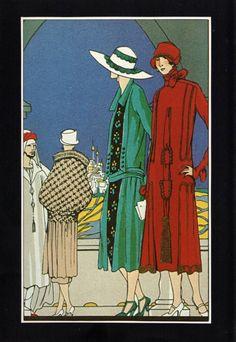 artdeco.quenalbertini: Martial et Armand styles, 1924