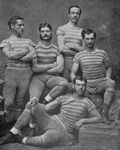 the prison lacrosse team, ca. 1893 or...mutton chop hotties, boy band of the 1800s