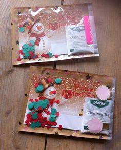 Kerstkaarten verstuurd voor kerstkaartenactie Postmaatje Eefies