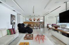 Lindo rack! Apartamento Sao Conrado  (Foto: MCA Estudio / divulga)