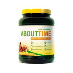 About Time Whey Protein Isolate – Chocolate Peanut Butter – 2 lb