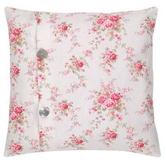Shabby chic pillow, love.