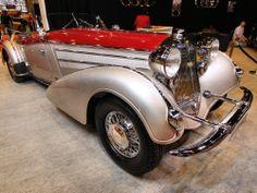 Horch 853 A Erdmann & Rossi Roadster de 1938.
