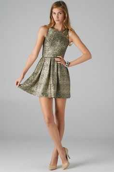 Party Fit and Flare dress// New Years?