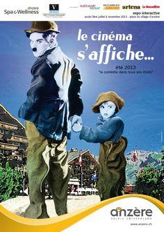 Le Cinéma s'affiche à Anzere Expo, Location, Activities, Event Posters