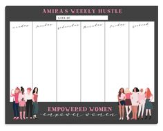 Empowerment Weekly Scheduler
