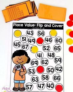 PLACE VALUE GAMES Read more about them on the blog Direct link in profile httpthemoffattgirlscomfirstgradeplacevalue