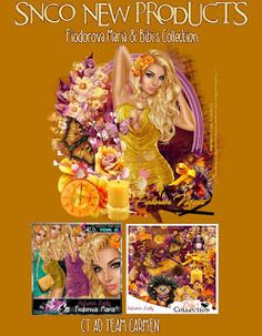 Carmen designs: Autumn Lady
