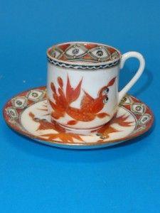 Vintage China Hong Kong Teacup & Saucer Mid Century   eBay
