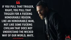 Tom Hardy as Alfie Solomons in 'Peaky Blinders' Peaky Blinders Series, Peaky Blinders Quotes, Peaky Blinders Season, Cillian Murphy Peaky Blinders, Tv Show Quotes, Movie Quotes, Book Quotes, Life Quotes, Qoutes