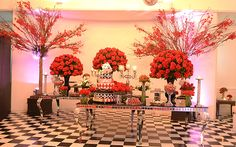 Las Vegas foi o tema da festa cassino da Isabella Anselmo