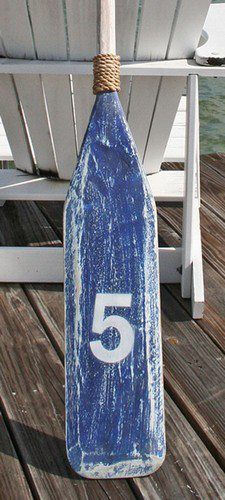 Distressed Oars! An essential element in nautical decor http://www.caronsbeachhouse.com/servlet/the... pinned with Pinvolve