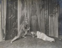 Oberon and Titania from A Midsummer Night's Dream, Savoy Theatre 1914 directed by Harley Granville-Barker