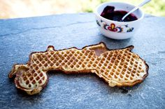 The best waffels are without gluten and milk!