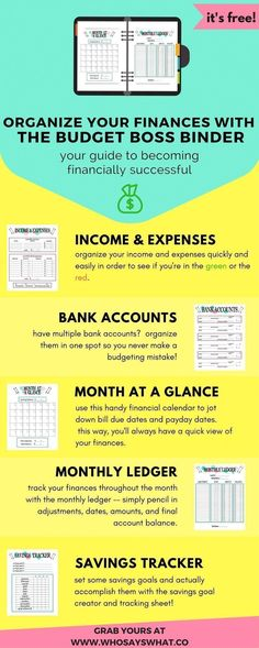 Budget Binder   Budget Organization   How To Budget   Budget Tips   Budget Success   Budget Printables   Budget Worksheets   Free Printables   Personal Finance   Budget For Beginners   Budget Tracking #FinancePrintables #FinanceWorksheets