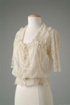 Blouse, Grand Maison de Blanc, 1917, Meadow Brook Hall Historic Costume Collection