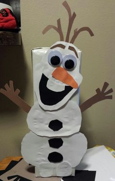 Olaf from Frozen - Valentine's box
