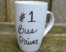 Bus Driver #1 Gift Mug