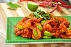 Give Thanks: Prawn Balado - Indonesian Spicy Fried Prawn