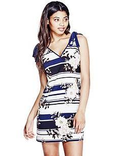 Delta Bow Tie Dress | GUESS.com