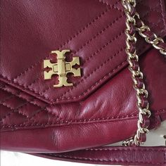 NWT  AUTH Tory Burch Crossbody Bag Brand new never used. Red agate color. Leather. Price is FIRM. NO TRADES ‼️ Tory Burch Bags Crossbody Bags