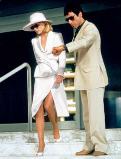 Michelle Pfeiffer in <i> Scarface</i>. - The Cut