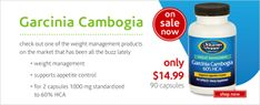 Check out one of the weight management product that has been all the buzz lately. Garcinia Cambogia is a fruit native Southeast Asia, India and West Africa. Garcinia Cambogia may support appetite control. The Vitamin Shoppe Garcinia Cambogia is 1000mg per serving, standardized to 60% of hydroxycitric acid. Instructions are to take 2 capsules 30 minutes before a meal. It is on sale in August for $16.99 in August and part of The Vitamin Shoppe's bi-yearly BOGO (Buy One Get One 50% off) sale