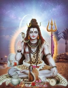 "Shiva is known as ""The Destroyer"" within the Trimurti, the Hindu trinity that includes Brahma and Vishnu Shiva Hindu, Shiva Art, Shiva Shakti, Hindu Art, Rudra Shiva, Photos Of Lord Shiva, Lord Shiva Hd Images, Pictures Of Shiva, God Pictures"