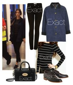 """Eleanor Calder"" by eleanor-perrie-sophia-dani-style ❤ liked on Polyvore featuring Office, Mulberry and Topshop"