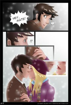 A Kiss At Midnight 2 of 3 by GinnyMilling on deviantART - what could have happened...