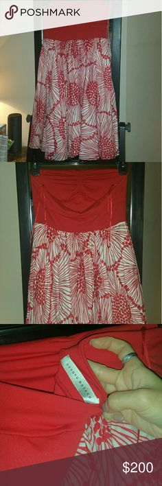 Susana Manaco sundress 4 Like new. Only used once. Beautiful. Has lining. Highend quality materials. Soft, and comfortable. Susana Monaco Dresses Midi