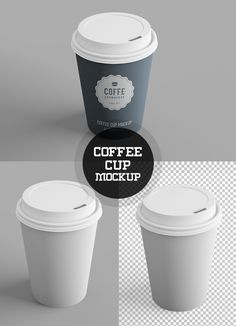Free Coffee Cup PSD Mockup                                                                                                                                                                                 More