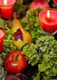 Dom pod brzozą: Tarta jabłkowa, tarta gruszkowa i doniczka sweterk...