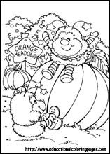 Rainbow Bright Coloring Pages free For Kids