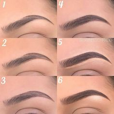 Make Up; Make Up Looks; Make Up Augen; Make Up Prom;Make Up Face; Makeup Steps look tips Best Eyebrow Makeup, Makeup 101, Makeup Goals, Skin Makeup, Eyeshadow Makeup, Eyeliner, Makeup Eyebrows, Makeup Products, How To Do Eyebrows