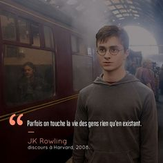 Voici 18 citations qui prouvent que Harry Potter et JK Rowling peuvent vraiment … Here are 18 quotes that prove that Harry Potter and JK Rowling can really be inspiring! Citation Harry Potter, Harry Potter Quotes, Hp Quotes, Film Quotes, Wisdom Quotes, Book Quotes, Harry Potter Anime, Harry Potter World, Jack Kerouac