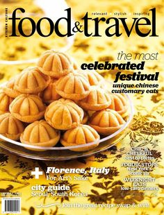 An inspiring food magazine for modern foodies who love to cook, dine and travel. In every issue there are easy, seasonal recipes plus features on the best restaurants in town and travel guides to the world's most exciting foodie destinations. To subscribe to Food & Travel, please visit e-shoppping.sg or email sales@regentmedia.sg for advertising opportunities.